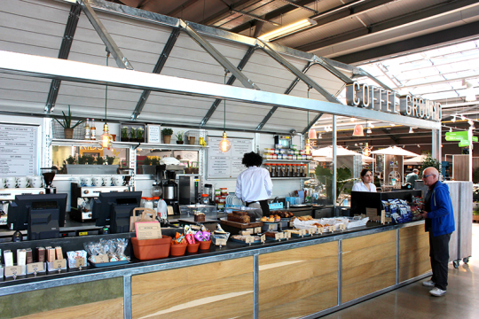 Coffee retail unit - Wyvale Percy Thrower's Garden Centre (2015)