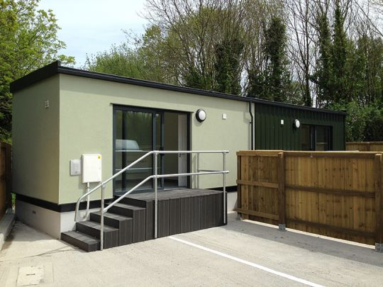 An amenity building in Plymouth completed on time for a local authority client