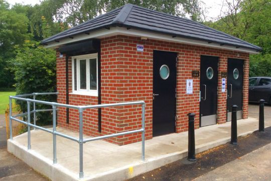 Public toilet facilities in Wilmslow, Cheshire