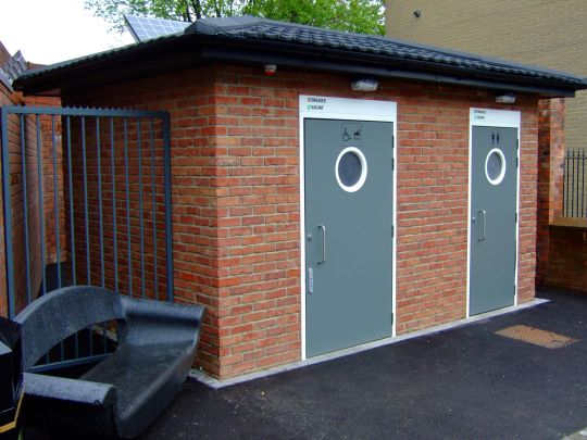 Public toilet facilities for Sheffield City Council in Abbey Lane